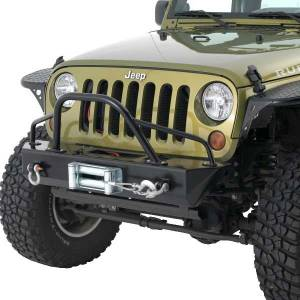 MDF Exterior Accessories - Bumpers - Jeep Bumpers - Warrior