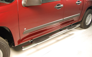 "Running Boards | Nerf Bars - Raptor Nerf Bars - 3"" Round Tube Steps"