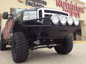 Bumpers - N Fab RSP Front Bumper - Ford