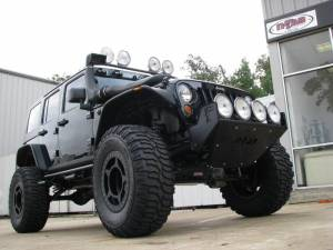 Bumpers - N Fab RSP Front Bumper - Jeep