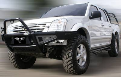 MDF Exterior Accessories - Bumpers - VPR 4x4 - VPR 4x4 PD-087 Front Bumper Rally Chevy D-Max 2005-2009