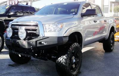 MDF Exterior Accessories - Bumpers - VPR 4x4 - VPR 4x4 PD-110 Front Bumper Ultima Toyota Tundra 2007-2012