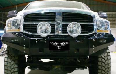 MDF Exterior Accessories - Bumpers - VPR 4x4 - VPR 4x4 PD-090 Front Bumper Ultima Dodge Ram 1500/2500/3500 2006-2009