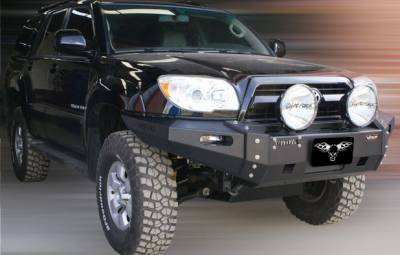 MDF Exterior Accessories - Bumpers - VPR 4x4 - VPR 4x4 PD-105 Front Bumper Ultima Toyota 4 Runner 2006-2009