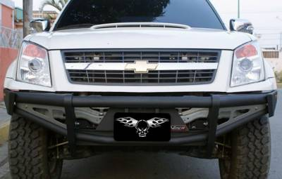 MDF Exterior Accessories - Bumpers - VPR 4x4 - VPR 4x4 PD-142 Rally Bumper Chevy D-Max 2011-2012