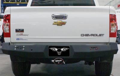 VPR 4x4 Bumpers - Chevy - VPR 4x4 - VPR 4x4 PT-016 Rear Bumper Chevy D-Max 2005-2009