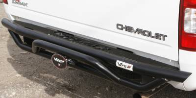 MDF Exterior Accessories - Bumpers - VPR 4x4 - VPR 4x4 PT-028 Rear Bumper Chevy D-Max 2005-2009