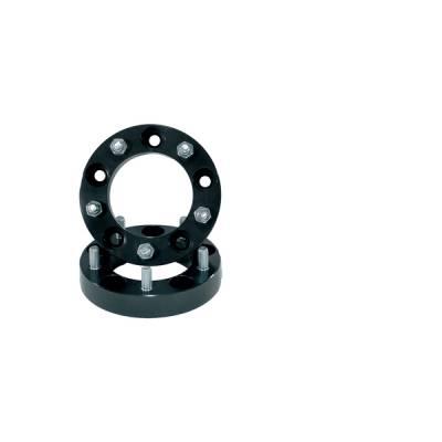 """Search Alloy Wheels - Rugged Ridge Wheels and Spacers - Rugged Ridge - Rugged Ridge 15201.03 125"""" Wheel Spacer 1945-1986 Jeep CJ With 5 On 55 Bolt Circle Pair"""