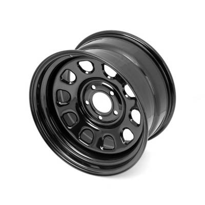 Search Alloy Wheels - Rugged Ridge Wheels and Spacers - Rugged Ridge - Rugged Ridge 15500.70 Wheel D 17X9 5-5 Bp 45 Bs