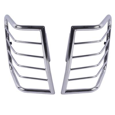 MDF Exterior Accessories - Rugged Ridge - Rugged Ridge 11103.20 Tail Light Guards Stainless Steel WJ 1999-2004 Pair