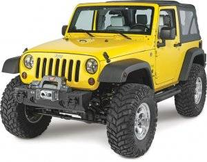 MDF Exterior Accessories - Bumpers - Jeep Bumpers - Rugged Ridge