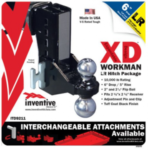 Towing Accessories - Hitches - Inventive Products Hitch Kits and XD Attachments