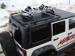 Everything Jeep - Jeep Roof Racks - MBRP Roof Racks and Cargo Baskets