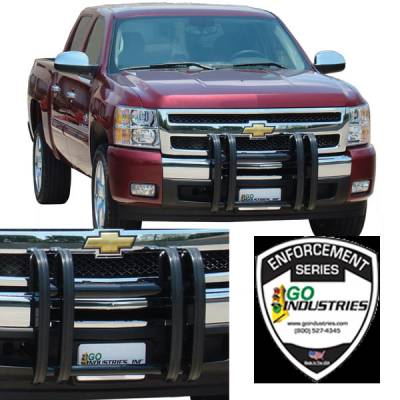 Quad Guard Push Bumper - Dodge - GO Industries - Go Industries 32666 Quad Guard Push Bumper Dodge Ram 1500 2009-2014