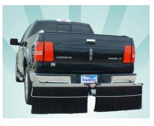 "Mud Flaps by Style - Towtector Brush System - Towtector Aluminum for Trucks - 78"" Models"