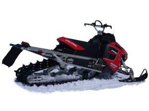 Mud Flaps by Vehicle - Snow Flaps - Polaris Pro RMK/Assault 2011+
