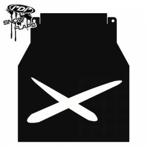 "Snow Flaps - Arctic Cat M-Series & X-Fire 2005-2008 - ""Extreme"" Logo"