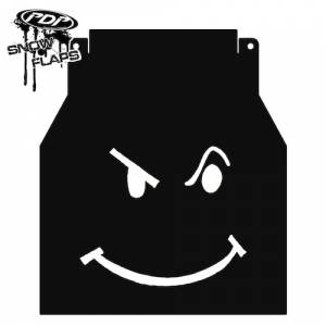 "Snow Flaps - Arctic Cat M-Series & X-Fire 2005-2008 - ""Smiley"" Logo"