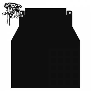 Snow Flaps - Arctic Cat M-Series & X-Fire 2005-2008 - Plain Black