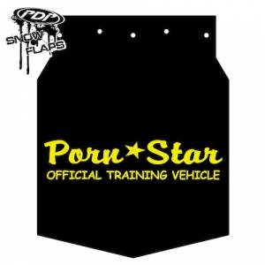 "Snow Flaps - Arctic Cat M-Series & X-Fire 2009-2011 - ""Pornstar"" Logo"