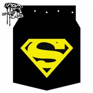 "Snow Flaps - Arctic Cat M-Series & X-Fire 2009-2011 - ""Superman"" Logo"