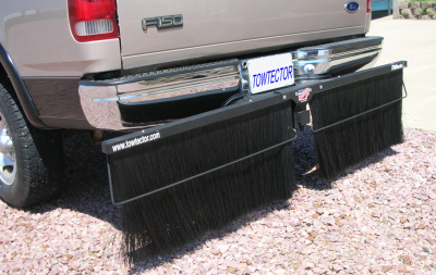 "Shop RV Mud Flaps - Towtector - Towtector 17814-PRO Brush System 78"" Wide x 14"" Height"
