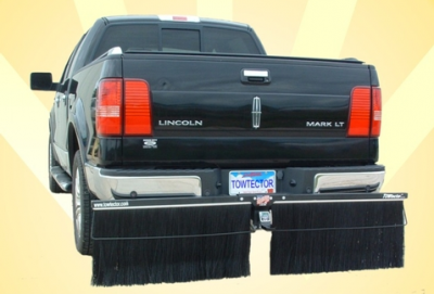 "Towtector Brush System - Premium Hitch Mount Mud Flaps - Towtector - Towtector 27824 Premium Brush System 78"" x 24"" for 2"" Receiver"