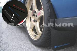 Mud Flaps for Cars & SUVs - Rally Armor Mud Flaps | Splash Guards - 1993-2001 Subaru Impreza