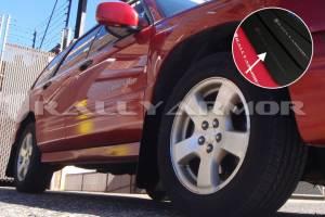 Rally Armor Mud Flaps | Subaru Mud Flaps | Mitsubishi