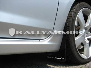 Mud Flaps for Cars & SUVs - Rally Armor Mud Flaps | Splash Guards - 2004-2009 Mazda3/Speed 3