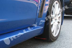 Mud Flaps for Cars & SUVs - Rally Armor Mud Flaps | Splash Guards - 2008-2012 Mitsubishi EVO X