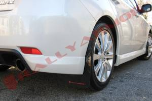 Mud Flaps for Cars & SUVs - Rally Armor Mud Flaps | Splash Guards - 2008-2012 Subaru Impreza 2.5i & 2008-10 WRX Hatchback