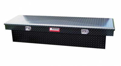 Tool Boxes - Owens Garrison Series - Owens - Owens 41003B Garrison Standard (Single Lid) Black Powder Coat Finish Tool Box
