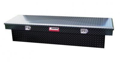 Owens - Owens 41005B Garrison Standard (Single Lid) Black Powder Coat Finish Tool Box