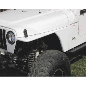 MDF Exterior Accessories - Fender Flares - Rugged Ridge Flat Fenders