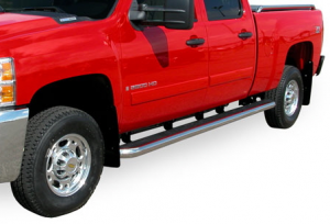 MDF Exterior Accessories - Running Boards | Nerf Bars - Luverne Mega Step Running Boards