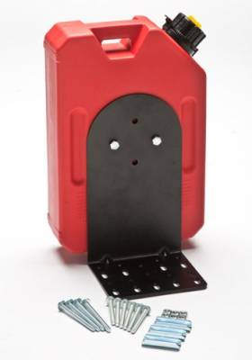 Rotopax - RotopaX RX-1G-PM-LDL 1 Gallon Fuel + Pack Mount + L-Bracket