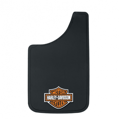 """Mud Flaps by Style - Logo Mud Flaps - Plasticolor - Plasticolor000524R01Harley Davidson Mud Flaps Pair 11"""" x 19"""""""