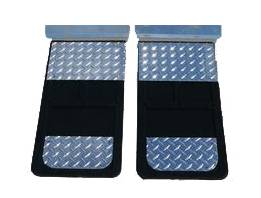 Go Industries Dually Mud Flaps - Ford Truck Mud Flaps - GO Industries - Go Industries D70724SET Single Wheel Mud Flaps Ford F350 1999-2010