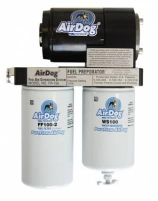 PureFlow Air Dog Fuel Systems - AirDog - PureFlow Air Dog - PureFlow Air Dog A4SPBC088 Chevy Duramax Preset @ 8-10psi 2001-2010 FP-150
