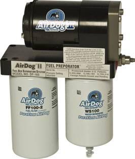 PureFlow Air Dog Fuel Systems - AirDog II - PureFlow Air Dog - PureFlow Air Dog A5SABD026 Dodge Cummins Preset @ 15-17psi 2005-2012 DF-165