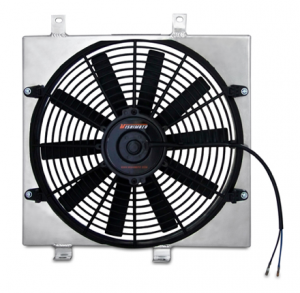 Performance Parts - Electric Fans - Mishimoto Aluminum Fan Shroud Kits