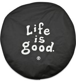 MDF Exterior Accessories - Tire Carriers - Life is Good Tire Covers
