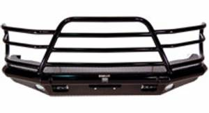 Tough Country Bumpers - Deluxe Front Bumper - Ford