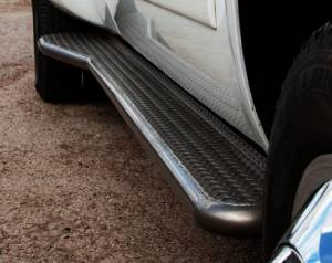 Tough Country Step Bars and Running Boards - Running Boards for Dually - Dodge