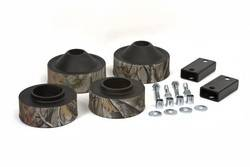 "Day Star Suspension Lift Kit - Jeep - Daystar - Daystar KJ09137CAMO Suspension Lift 1-3/4"" Front & Rear Coil Spacer Kit Bump Stops Rear Sway Bar Brackets Camo 2007-2012 Jeep JK Wrangler 2WD & 4WD"