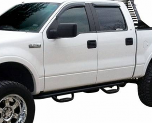 "MDF Exterior Accessories - Running Boards | Nerf Bars - Westin GenX 4"" Oval Tube Nerf Bars"