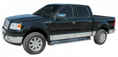 Side Entry Steps - Ford - Luverne - Luverne 480423 Stainless Steel Running Boards Ford F150 Super Crew 2004-2008
