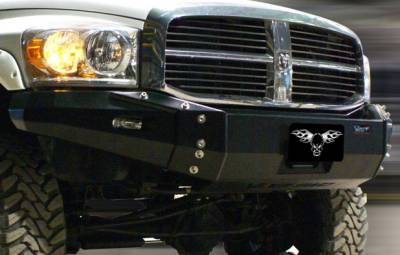 MDF Exterior Accessories - Bumpers - VPR 4x4 - VPR 4x4 VPR-116 Front Bumper Ultima Dodge Ram 2500/3500 2010-2012