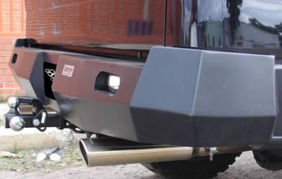 VPR 4x4 Bumpers - Hilux Vigo - VPR 4x4 - VPR 4x4 PT-012 Rear Bumper Hilux Vigo (Kavak) 2005-2010
